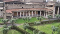 Excursion-Pompeii excavations